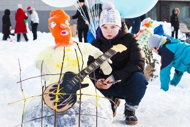 Люди в городе: «Арт-битва снеговиков». Изображение № 39.