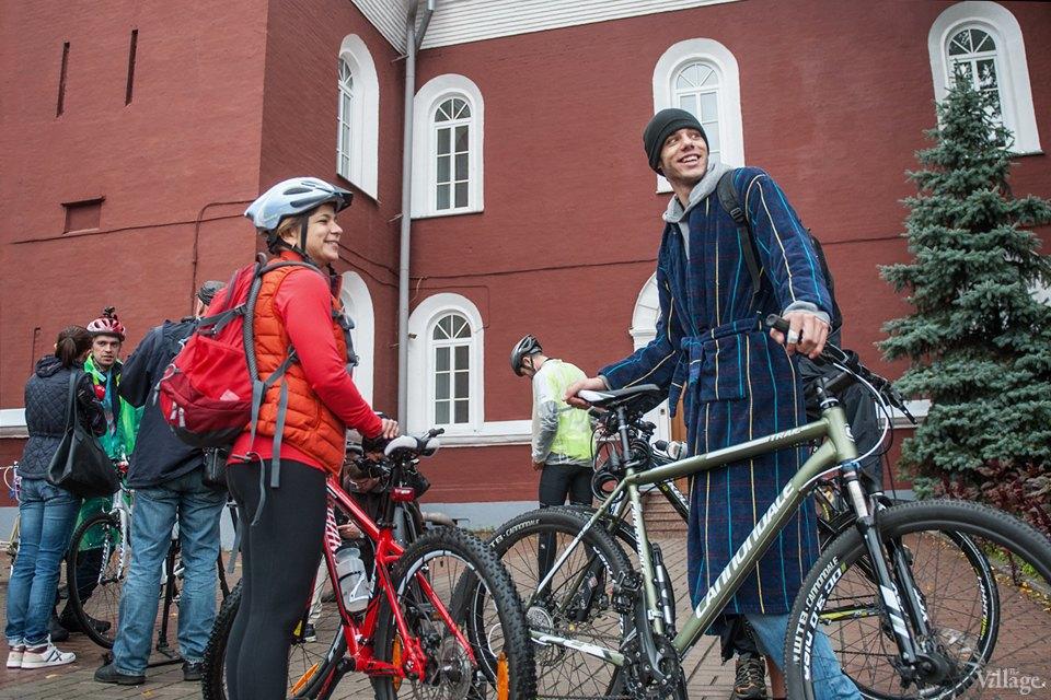 Люди в городе: участники велопарада впижамах. Изображение № 9.