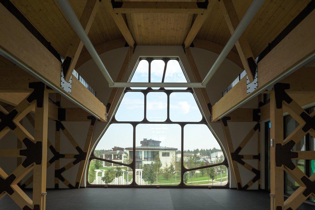 Как выглядит арт-объект Waves— первый дом попроекту Гаэтано Пеше вРоссии. Изображение № 6.