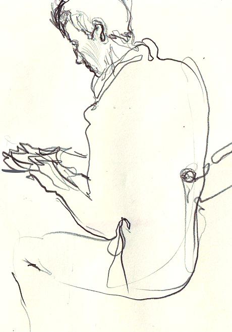 Клуб рисовальщиков: Музыканты. Изображение № 2.
