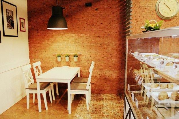 У«Звёздной» открылась пекарня MeGusta. Изображение № 3.