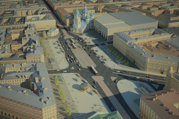 Заказ нареконструкцию Сенной площади отменён. Изображение № 1.
