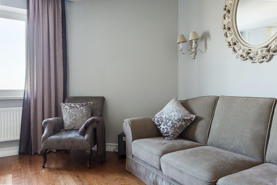 Большая квартира для семьи на«Нагатинской» с кабинетом илимонной ванной. Изображение № 21.