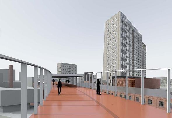Изображение 4. На Павелецкой набережной построят молодежный жилой комплекс.. Изображение № 6.