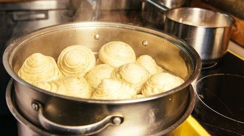 Картошка с грибами в сметане готовим дома