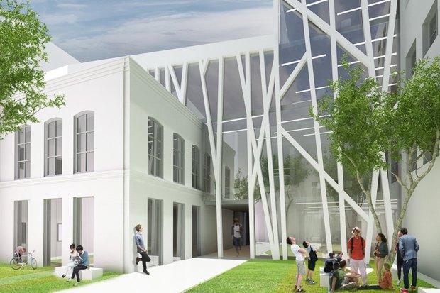 Европейский университет: 4 проекта реконструкции. Изображение № 13.
