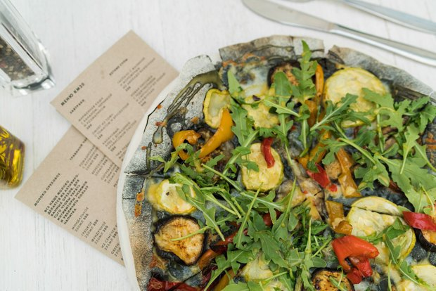 Три вегетарианские пиццы. Изображение № 2.