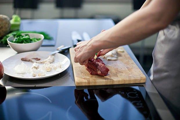 Шеф дома: Ростбиф-салат и тыквенная каша Мириам Сехон. Изображение № 12.
