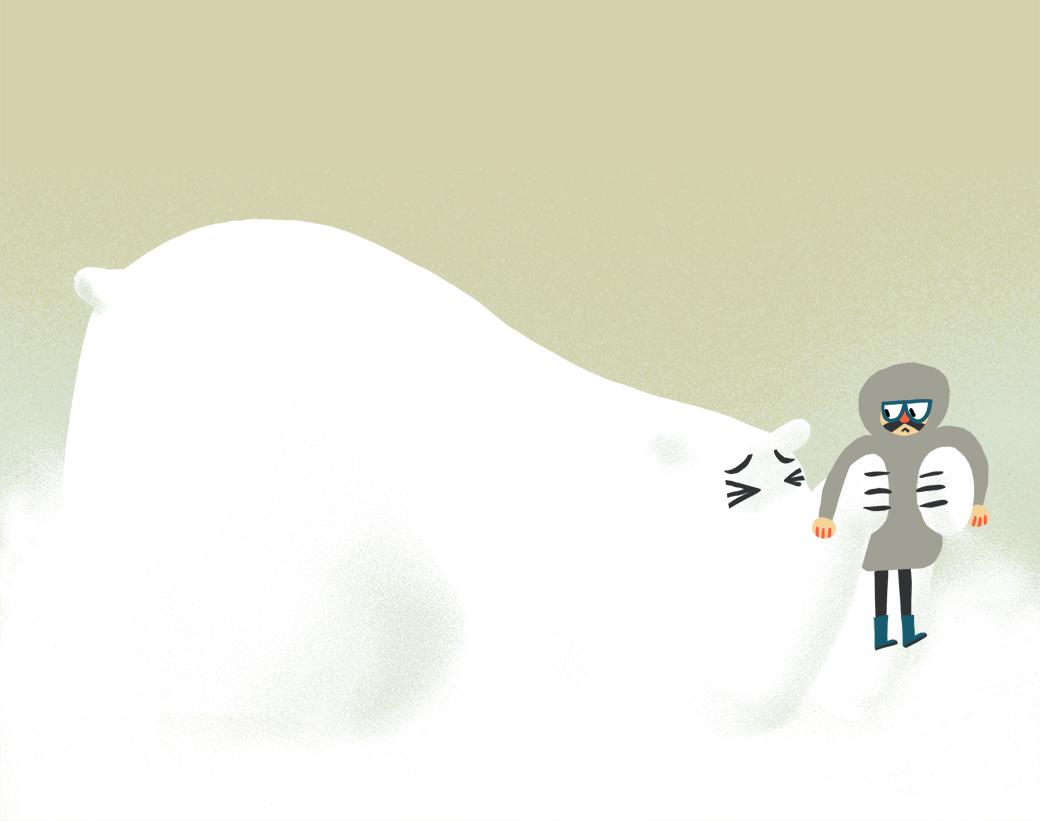 Чукотский полярник — о жизни нанеобитаемом острове и отношениях с дикими зверями. Изображение № 3.