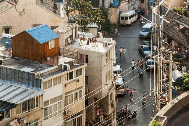 Часть целого: Старый город вШанхае. Изображение № 4.