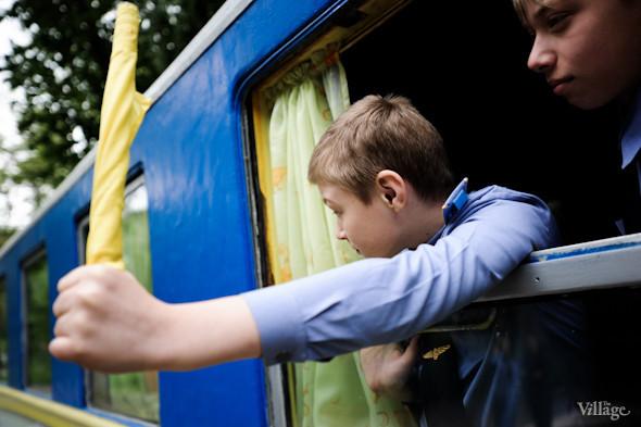 Фоторепортаж: В Киеве открылся сезон на детской железной дороге. Зображення № 31.