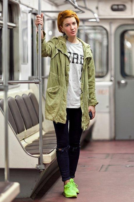 Люди в городе: Первые пассажиры ночного метро . Изображение № 10.