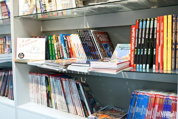 Раскадровка: 6 магазинов илавок с комиксами вПетербурге. Изображение № 64.