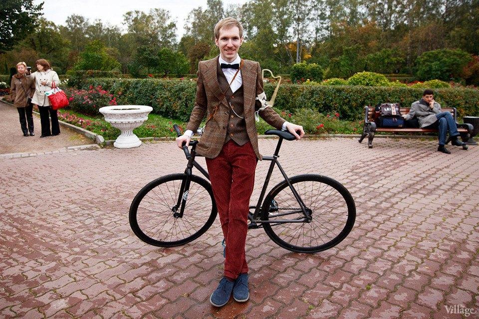 С твидом на город: Участники велопробега Tweed Ride о ретро-вещах. Изображение № 33.