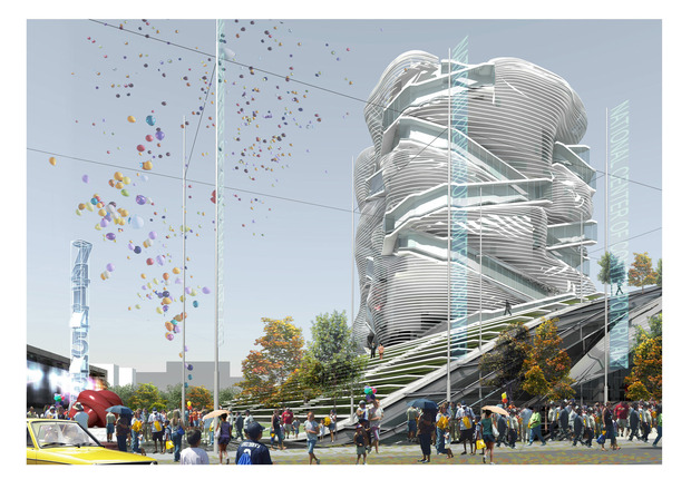 Реализацию проекта нового здания ГЦСИ приостановили. Изображение № 3.