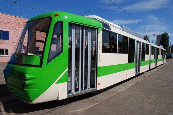 Новый скоростной трамвай «Каштан» пустят в сентябре. Зображення № 1.