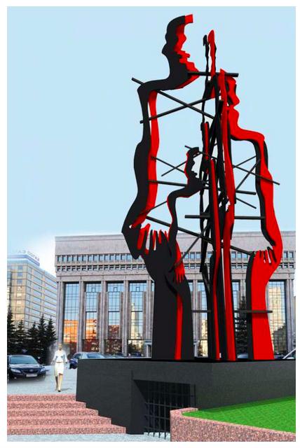 В Москве выбрали автора памятника жертвам политических репрессий. Изображение № 3.
