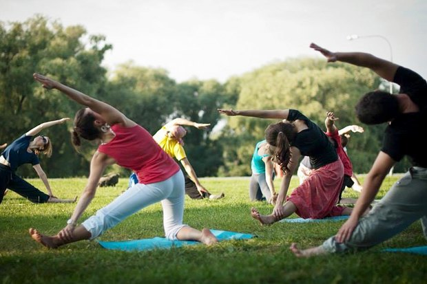 Прокат веломобилей, школа лонгборда, йога и танцы. Изображение № 8.