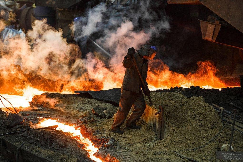 Производственный процесс: Как плавят металл. Изображение № 5.