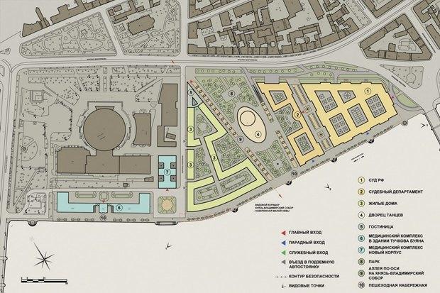 Суд идёт: четыре проекта квартала на месте «Набережной Европы». Изображение №29.