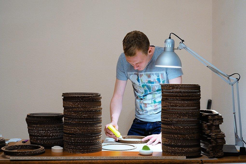 Wishnya: Зачем производитель стройматериалов стал делать картонную мебель. Изображение № 6.