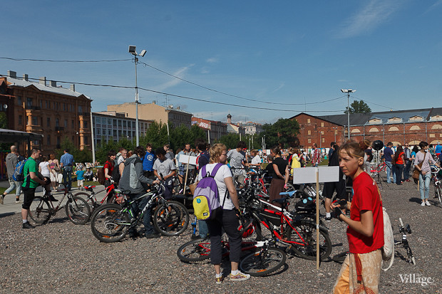 Фоторепортаж: Велопробег «За велогород». Изображение № 40.