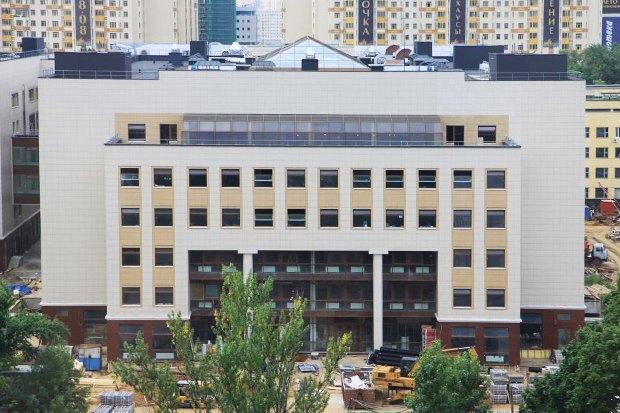 Юридическому факультету МГУ построили новое здание. Изображение № 1.