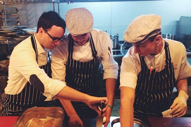Пако Моралес и русские повара на кухне Door 19. Изображение № 5.