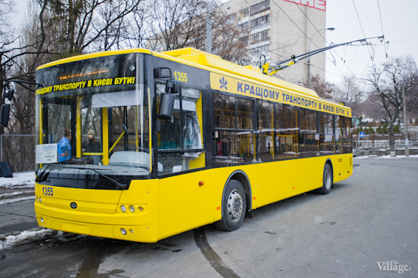В Киеве запустили сто новых автобусов и троллейбусов. Изображение № 3.