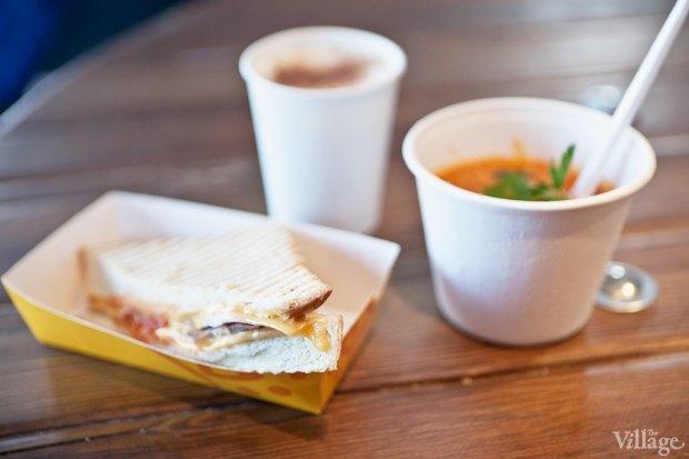 Комбо-ланч: бутерброд, суп и напиток. Изображение № 27.