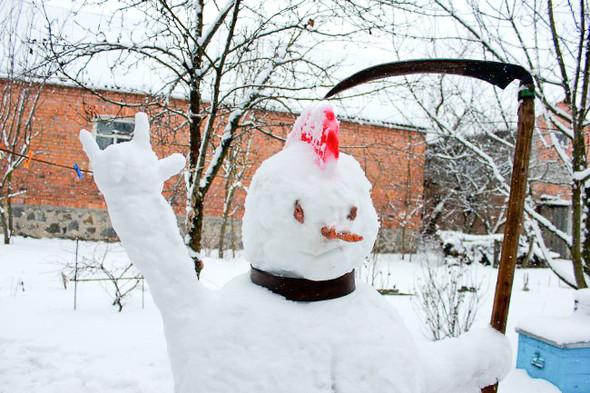 Белым по серому: Итоги снежного января в Киеве. Зображення № 6.