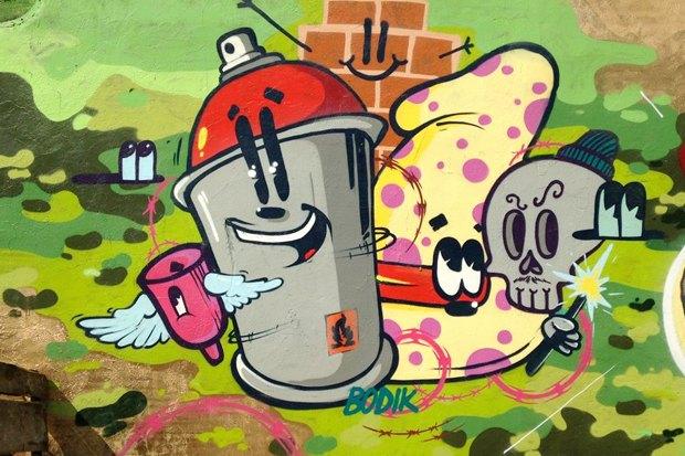 FURFUR составил карту московских граффити. Изображение № 3.