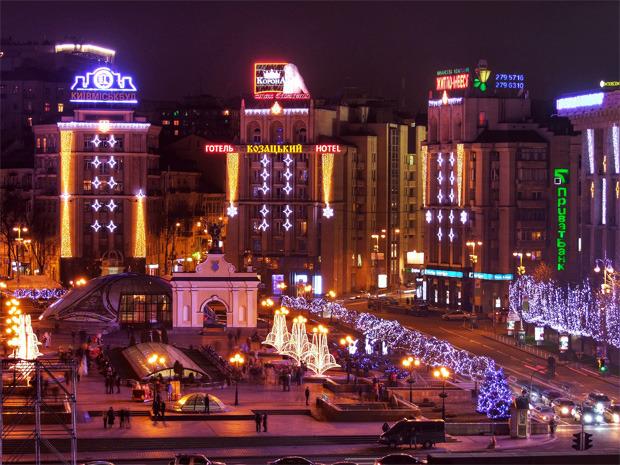 В декабре центр Киева украсят иллюминацией. Зображення № 2.