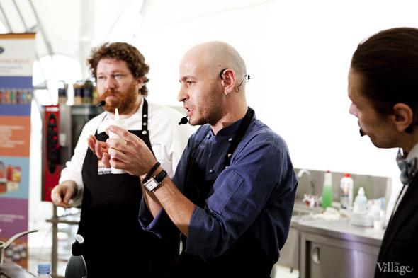 Omnivore Food Festival: Илья Шалев и Алексей Зимин готовят три блюда из редиса и черемши . Изображение № 29.