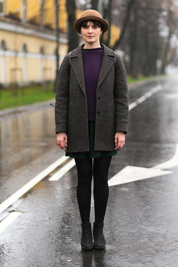 Внешний вид (Петербург): Оксана Девочкина, графический дизайнер. Изображение № 1.