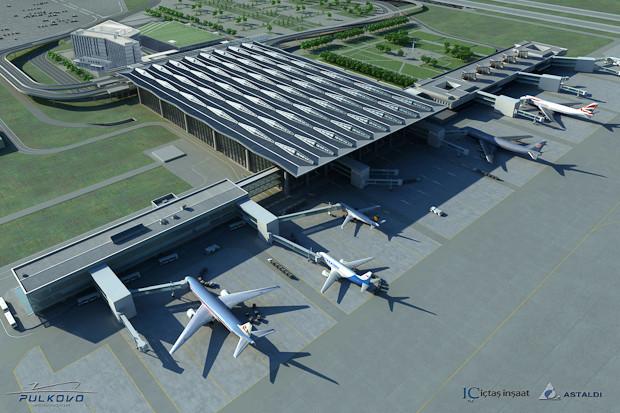 Фоторепортаж: Каким будет новый терминал Пулкова. Изображение № 15.