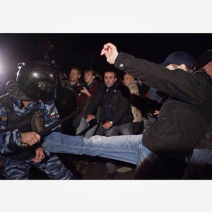 Беспорядки в Бирюлёве вснимках Instagram. Изображение № 13.