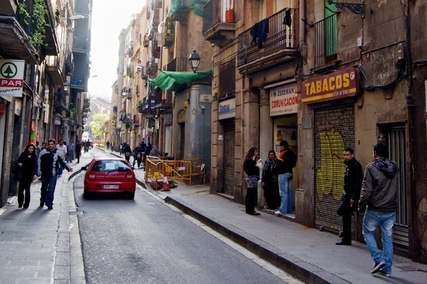 Китайский квартал красных фонарей в Барселоне . Изображение № 13.