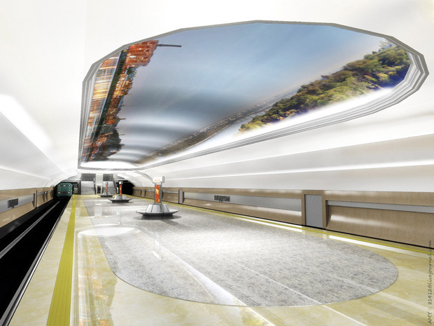 Станцию метро «Ипподром» откроют 25 октября. Зображення № 7.