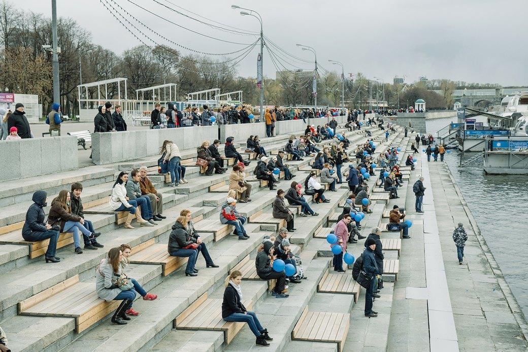 Как прошёл первый парад пассажирских теплоходов в Москве. Изображение № 3.
