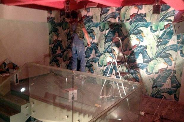 Geometria Cafe во время ремонта. Изображение № 2.