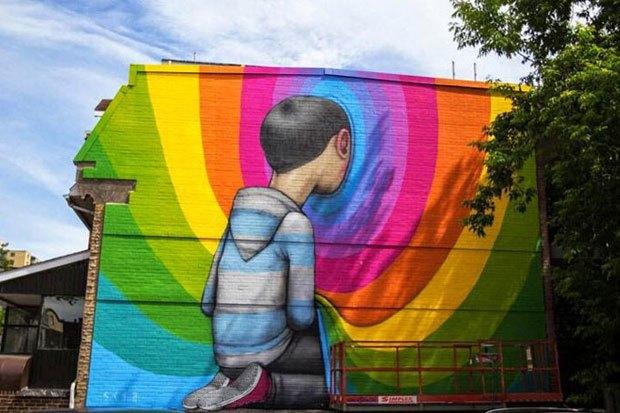 Граффити, изменившие улицы Колумбии, Франции, Турции иВенгрии. Изображение № 7.