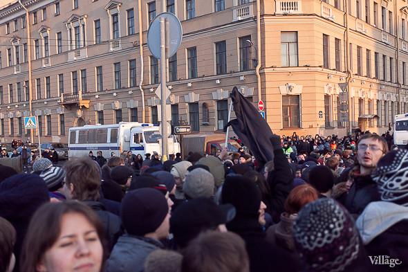 Фоторепортаж: Митинг 5 марта на Исаакиевской площади. Изображение № 6.