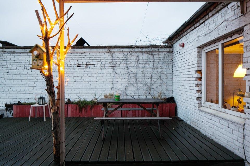Жилой лофт имастерская накрыше завода. Изображение № 10.