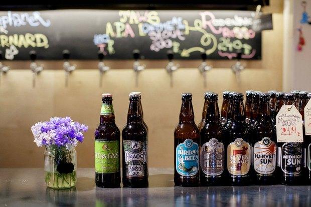 На Рубинштейна открылся магазин крафтового пива. Изображение № 4.