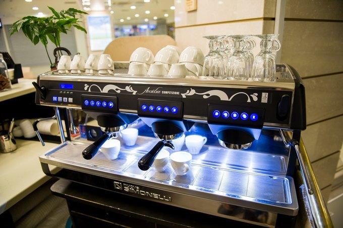 В «Заневском каскаде» открылось кафе Luigi Coffee. Изображение № 4.