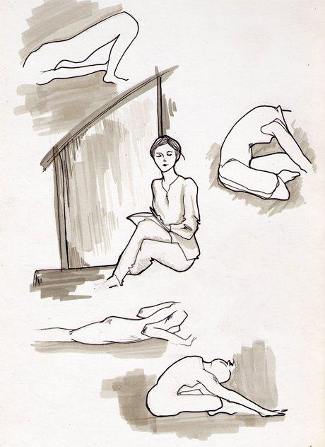 Клуб рисовальщиков: Йога. Изображение №11.