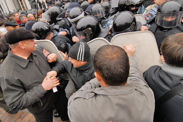 Copwatch: Действия милиции на акции «Вперёд!» возле Верховной рады. Изображение № 13.