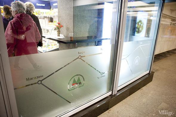 На станции «Сретенский бульвар» открылось первое метрокафе. Изображение № 3.