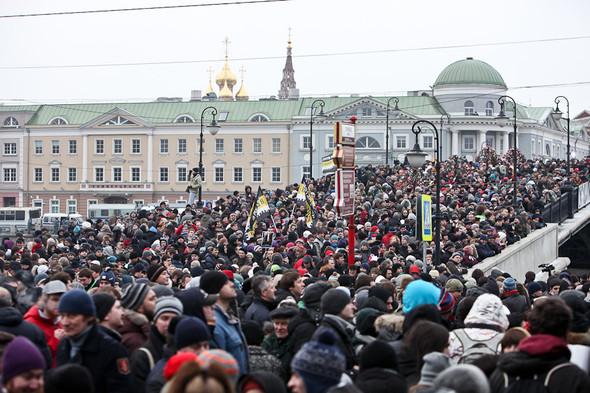 Фоторепортаж: Митинг против фальсификации выборов. Изображение № 20.